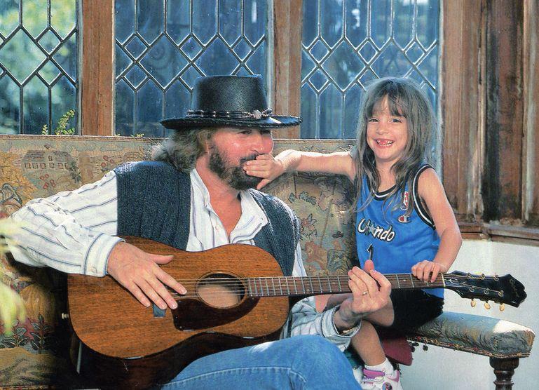 バリーとアリちゃん(当時6歳)(1997年3月)