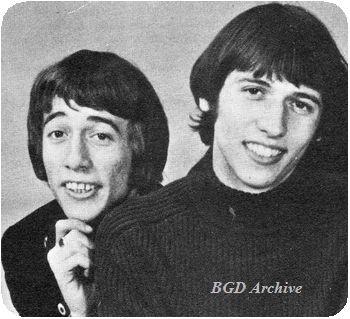 いつも仲が良かったロビンとモーリス(1967年)