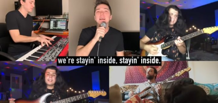Bee Gees parody - Stayin' Inside